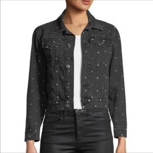 Current Eillot polka dot jeans jacket